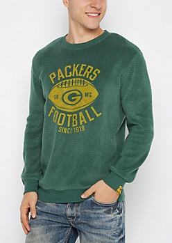 Green Bay Packers Reversed Fleece Sweatshirt