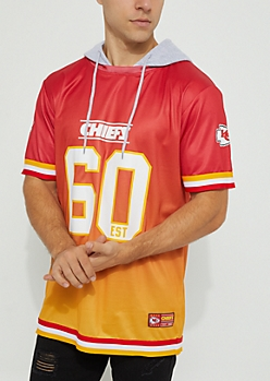 Kansas City Chiefs Hooded Mesh Top