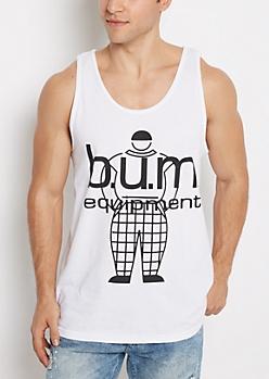 B.U.M. Equipment Logo Tank Top
