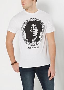 Bob Marley Profile Tee