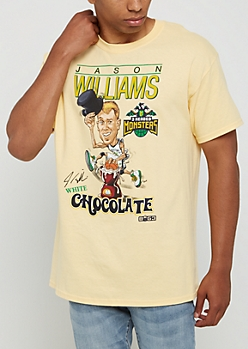 Yellow Signed White Chocolate Tee