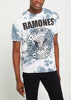 Ramones Logo Tie Dye Tee