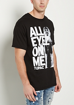 Tupac Shakur All Eyez On Me Black Tee