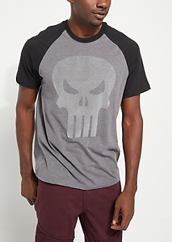 Punisher Raglan Tee
