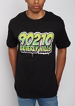 90210 Beverly Hills Spray Paint Tee