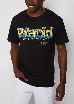 Polaroid Spray Paint Tee