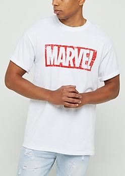 Marvel Vintage Logo Tee
