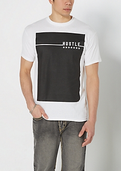 Hustle Black Box Tee