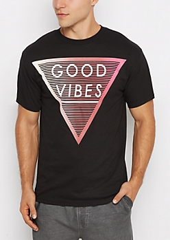 Good Vibes Geo Tee