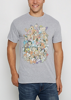 Hanna-Barbera Cartoon Retro Tee