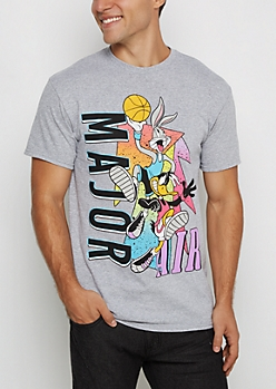 Bugs & Daffy Basketball Retro Tee