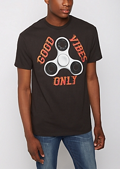 Good Vibes Spinner Tee