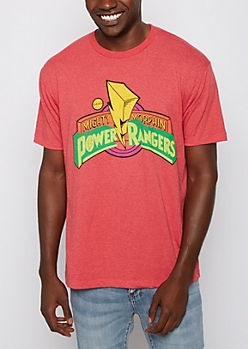 Power Rangers Logo Tee