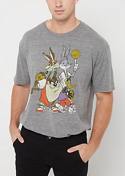 Looney Tunes Basketball Tee
