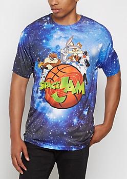 Space Jam Galaxy Tee