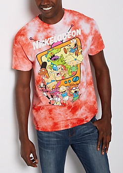 Retro Nicktoons Tie Dye Tee