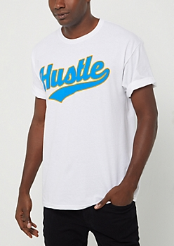 Hustle Baseball Tee