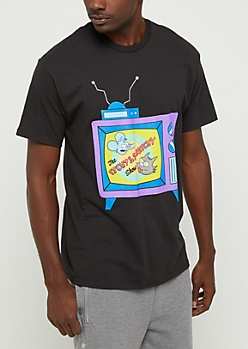 Itchy and Scratchy Simpsons Tee