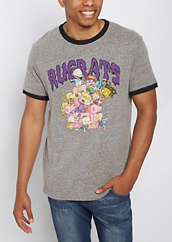 The Rugrats Retro Ringer Tee