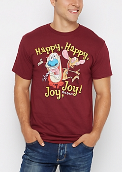 Ren And Stimpy Retro Tee