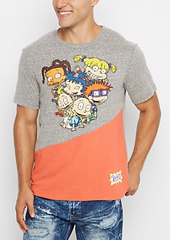 Rugrats Color Split Tee