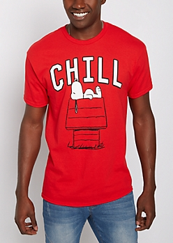 Chill Snoopy Tee
