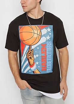 Harlem Globetrotters Basketball Tee