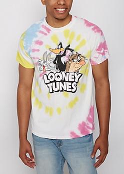 Looney Tunes Tie Dye Tee