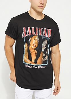 Aaliyah Rest In Peace Tee