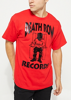 Death Row Records Red Tee