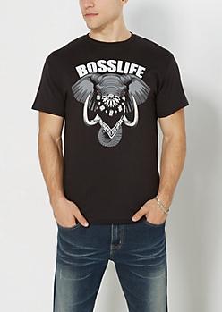 Boss Life Elephant Tee