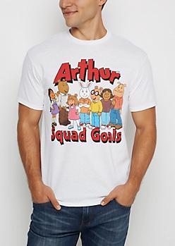 Arthur Squad Goals Tee