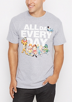 Cereal All Day Everyday Tee