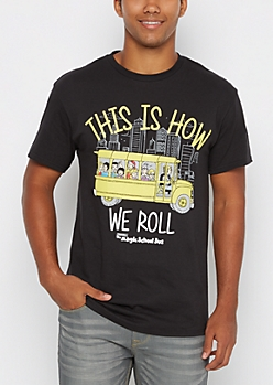 How We Roll The Magic School Bus Tee