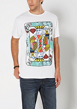 King's Playing Card Tee