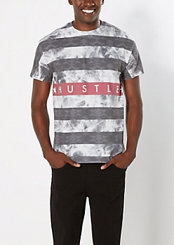 Hustle Smoky Tee