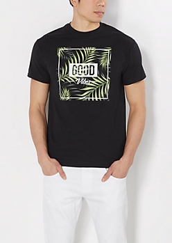 Good Vibes Fern Tee