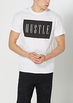 Hustle Logo Tee