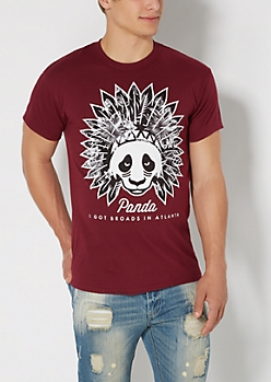 Panda Headdress Tee