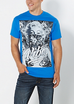 Marilyn Good Vibes Tee
