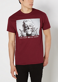 Marilyn Live Fast Tee