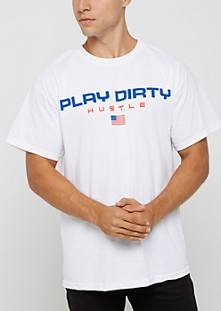 Play Dirty Hustle Tee