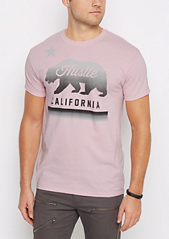 California Hustle Pink Tee