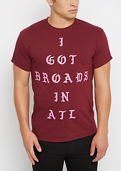 Broad In ATL Tee