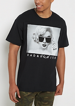 Bad & Boujee Marilyn Graphic Tee