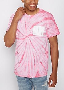 Lit Pink Tie Dye Tee