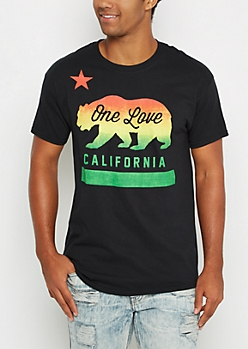 One Love Cali Rasta Tee