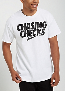Chasing Checks Tee