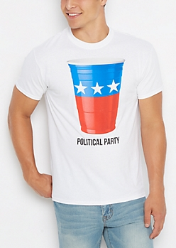 Political Party Cup Tee