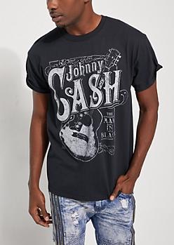 Johnny Cash Guitar Tee